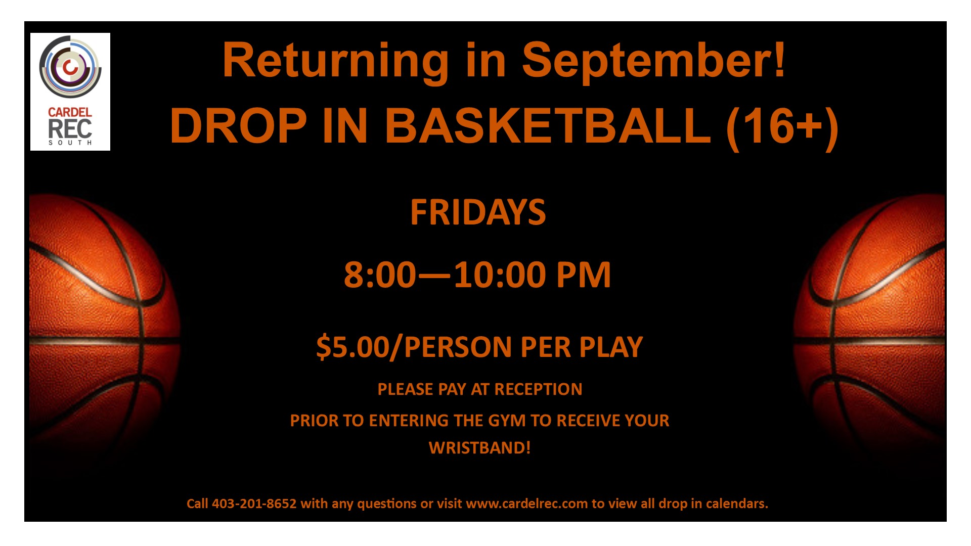 DROP IN BASKETBALL